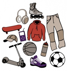 urban life style vector image