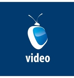 Logo tv vector
