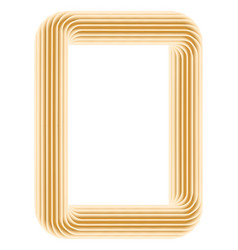 colour frames on the white vector image