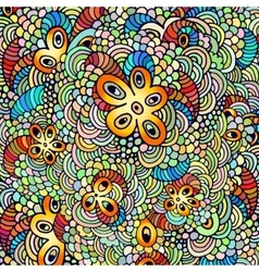 Hand drawn psychedelic vector image vector image