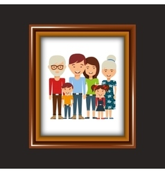picture frame design vector image