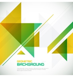 Abstract geometrical background with triangles and vector image