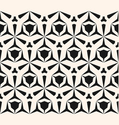 Geometric seamless pattern edgy triangular grid vector