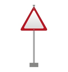 traffic signal isolated icon design vector image