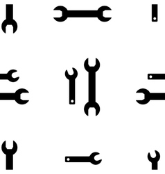 Tool icon background vector
