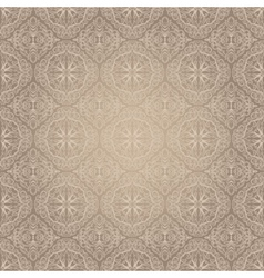 Light vintage seamless pattern vector image vector image