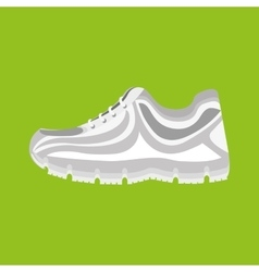 running shoes design vector image vector image