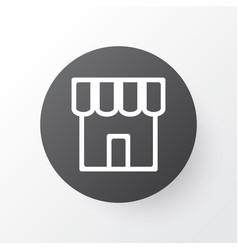 store icon symbol premium quality isolated shop vector image