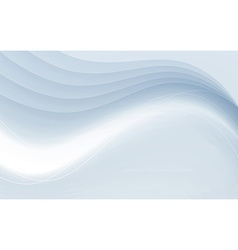 Transparent soft futuristic satin swoosh border vector