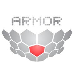 Armor icon vector image vector image