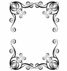 Graphic framework vector