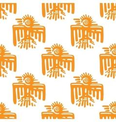 Maya art seamless pattern vector