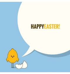 Easter social media concept background vector