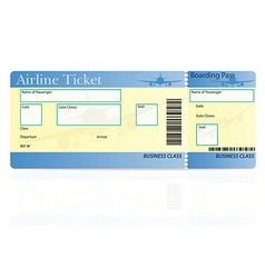 Airline ticket 03 vector