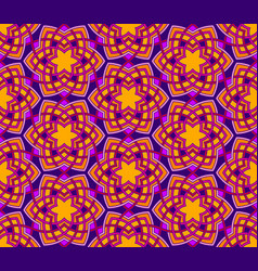 Arabesque floral pattern vector