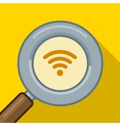 Search wifi symbol find wifi vector image