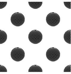 Golf ballgolf club single icon in black style vector