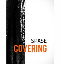 covering-spase vector image