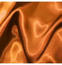 Golden satin texture vector image