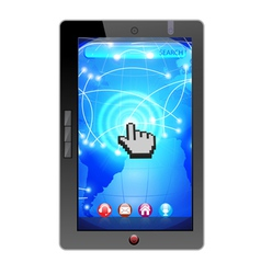 i pad technology vector image