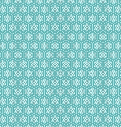 Snowflake seamless pattern background vector