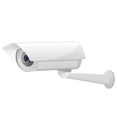 video surveillance camera 02 vector image