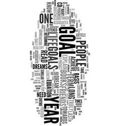 Your dream text word cloud concept vector