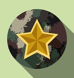 Military forces design vector