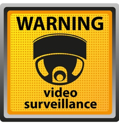 video surveillance camera 03 vector image vector image