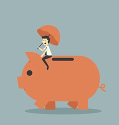 pig1 vector image