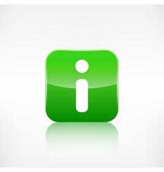 Information web icon application button vector