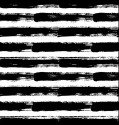 painted striped pattern grunge brush strokes vector image vector image