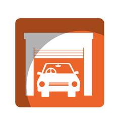 Repair car service emblem vector
