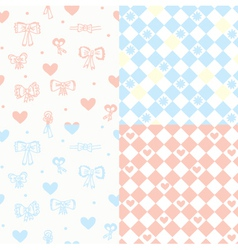 baby wallpaper vector image