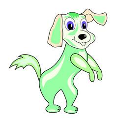 Cartoonish dog vector