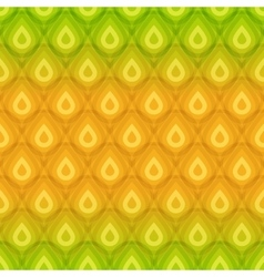 Pineapple texture seamless pattern vector image vector image