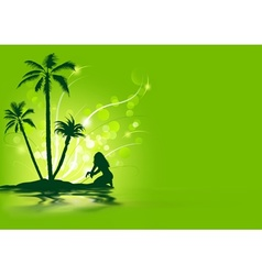 Tropical Holiday vector image