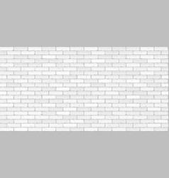 white brick wall texture seamless vector image
