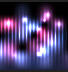 Abstract vertical glowing lights background vector