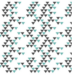 Colorful retro hipsters triangle pattern vector