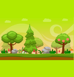 Cartoon style game background vector