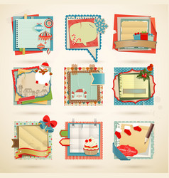 christmas notes vector image