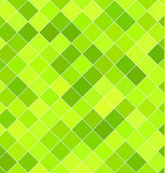 Lime color square pattern background design vector