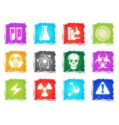 science simply symbols vector image