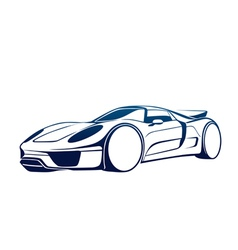 Super auto vector image