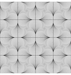 Design seamless twirl movement checked pattern vector