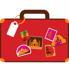 Travel and vacation vector
