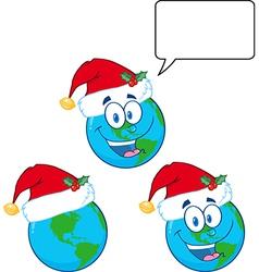 Cartoon globe design vector