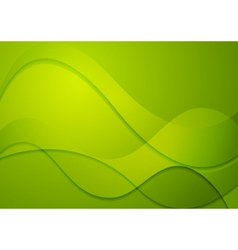 Colourful abstract wavy background vector image vector image