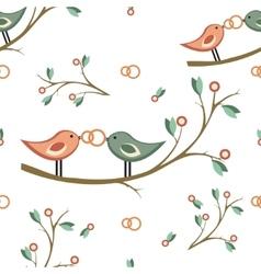 Cute wedding seamless pattern seamless vector